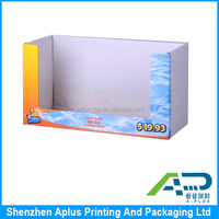 Corrugated paper material square display box full color printing