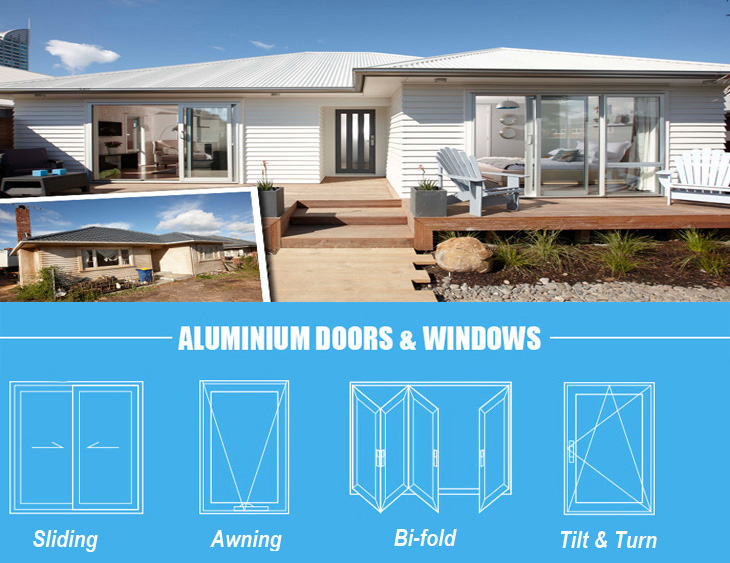 AS2047 Australia commercial standard aluminum awning window