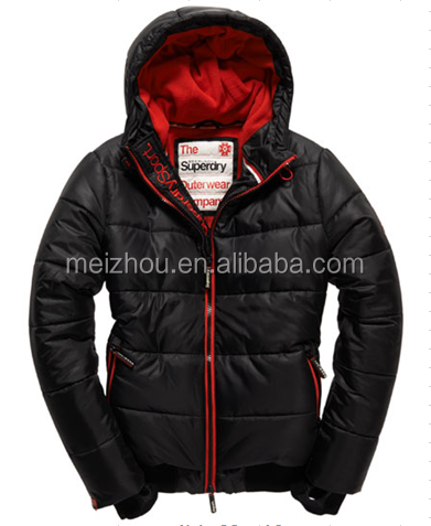 young fashion jacket in down fill, thick mens popular jacket(LU1204)