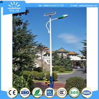 replacement solar decoration street light panel