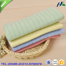 China Supplier Good Quality Stripe Microfiber Colored Kitchen Towel