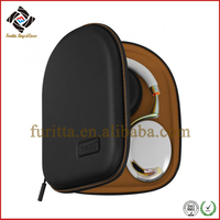 Protective EVA PU Shockproof Carrying Case for Parrot Zik Headphone Brown