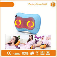 Newest High-grade PU Cover Personal 3D Heating Massager,Four Kneading Rollers Massage Pillow
