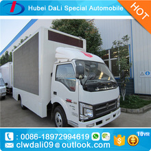 outdoor full color led screen mobile truck for sale