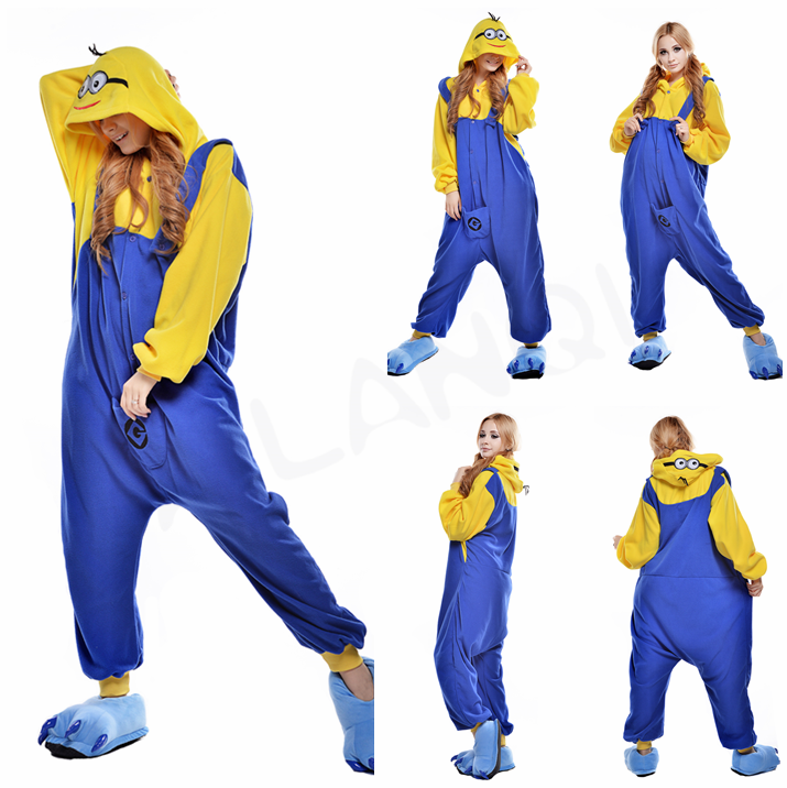 ALQ-A037 Wholesale fitted onesie for women animal pajamas costume