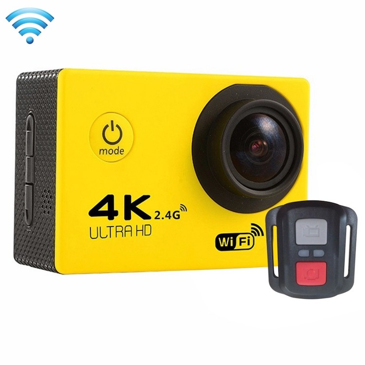 2017 Hottest Christmas gift F60R allwinner V3 4k 30fps 3x video download gopros waterproof sport camera 4K video camera F60R