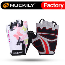 Nuckily Slip proof glove foam padding palm gel pad cycling glove