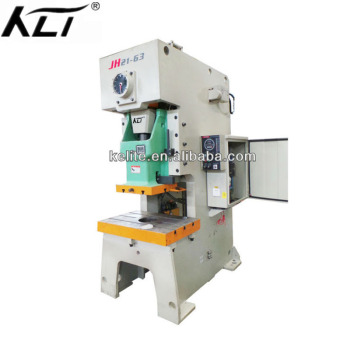 JH21 series cnc metal plate hole and aluminum punching machine 160ton