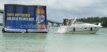 newest excellent advertising floating inflatable billboard