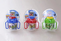 cartoon plastic water bottle /wings for kids traveling