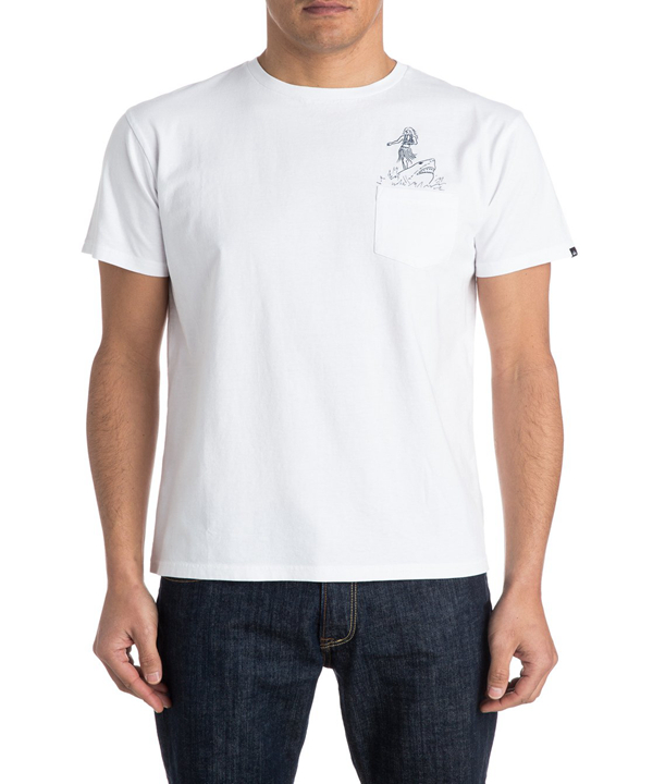 OEM service mens chest pocket printing white cotton t shirt wholesale