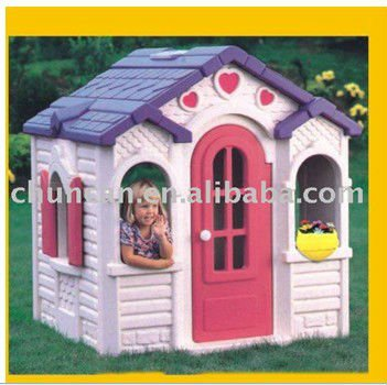 2015 new baby play house plastic chocolate house for children