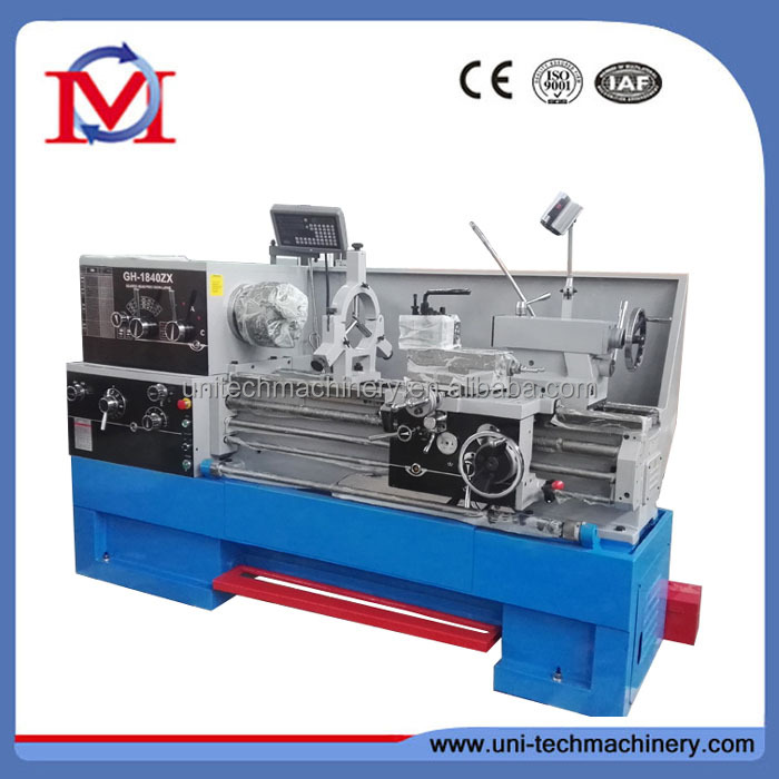 GH1840ZX China high precision digital readout metal lathe machine
