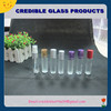 sample use perfume glass bottle with roll on ball and screw cap