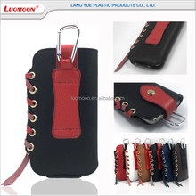 Mountaineering bag genuine leather rope universal smart cell phone case for samsung galaxy note 2 3 4 5 s7 s6 edge+ plus