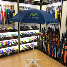 Professional advertising promotional windproof custom made outdoor beach umbrellas wholesale
