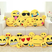 Wholesale Products China Factory Toys Plushie Pillow Gift Emoji