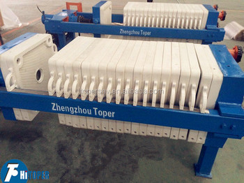 Low price recessed filter press for sale made in China of hydraulic compressed