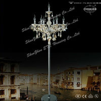 2013 newest famous modern glass chandelier floor lamps from China ETL50013
