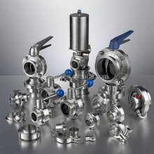 Butterfly Valve and other pipe fittings For Food Industry