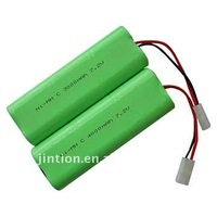 Ni-Mh C 4000mAh 7.2v Rechargeable battery pack