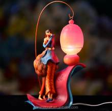LED wedding gift 3d light resin fashion night light