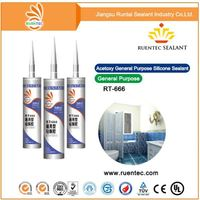 Cartridge Packing Silicone Sealant/Big Glass Silicone Sealant/Top Quality Acid Silicone