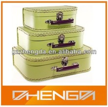 Hot Quality Customized Made-In-China kids mini cardboard suitcase (ZD2014-M023)
