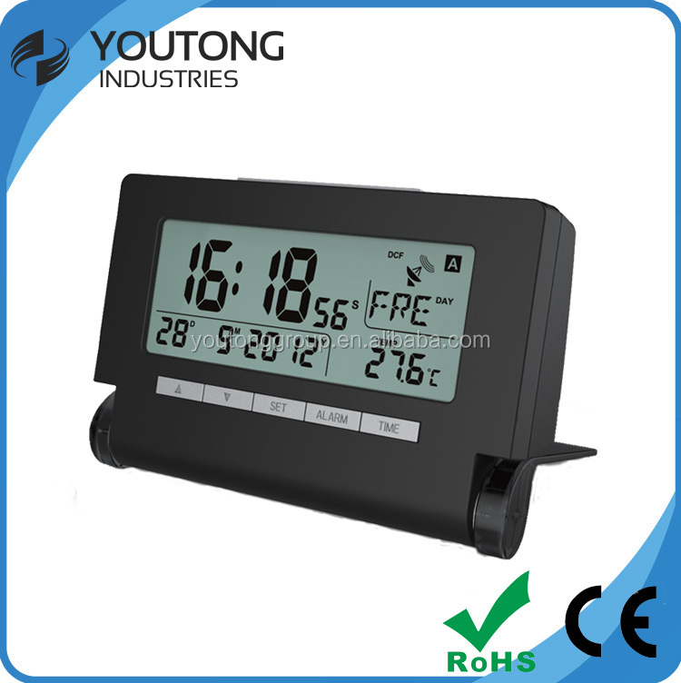table plastic digital alam clock