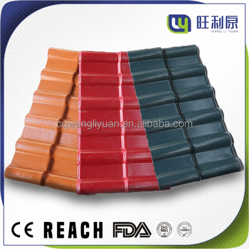 WLY building materials for houses container roofing tile