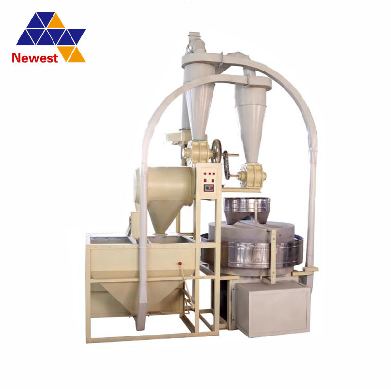50-75kg/h small flour stone mill/stone mill for grain/automatic stone mill flour machine