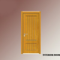 Southern african yellow color pine wooden material doors