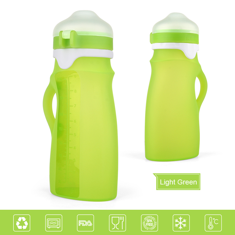 bpa free silicone soft stainless steel baby bottles wholesale
