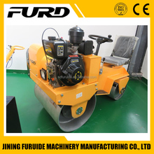 Hot sale diesel type mini sit on road roller compactor (FYL-850)
