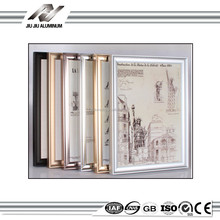 mirrored gold black silver metal photo picture frames