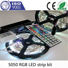 SMD 300LED, 5M/16.4 FT, Waterproof Flexible RGB Color Changing LED Strip Light For Outdoors/Indoors/Car/Stage/Festivals/Party