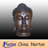 outdoor decoration large metal buddha head sculpture NTBH-S0675S