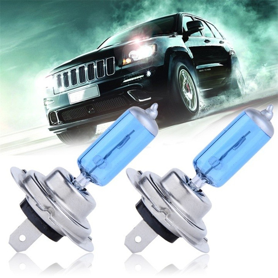 2pcs/lot H7 55W 12V Halogen Bulb Super Xenon White Fog Lights High Power Car Headlight Lamp Car Light Source parking <strong>auto</strong>