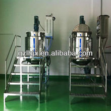 Detergent industrial blending vessel used chemical mixing tank