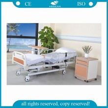 AG-BM005 Height adjustment nursing home care four motors electric hospital bed
