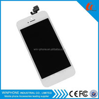 Original lcd display for iphone5 screen Assembly with touch digitizer