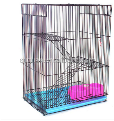Wholesale Commercial squirrel cages small animal cage large Iron pet cage