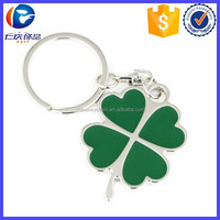 New Products Green Four Leaf Clover Shaped Key Holder