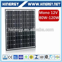 120w 36v solar panel 120w solar panels 18v 120w solar panel price for solar power system