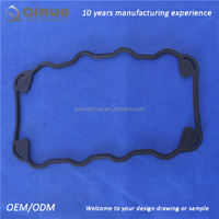 Good quality custom epdm silicone viton round rubber gasket