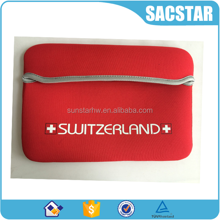 2016 Custom neoprene tablet pouch notebook laptop sleeve