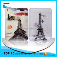 Customized image color leather case for ipad air 2 ,tablet PC+PU leather cover case for ipad air 2