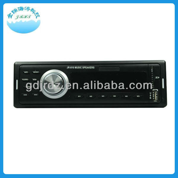 JR-810 car no disk mp3 audio usb player
