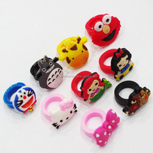 Wholesale Cheap Price PVC Wedding Finger Rings, Lastest Wedding Ring Animal Designs Sets