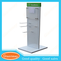 double sided rack units display cell phone accessory